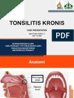 Ppt Tonsilitis Case