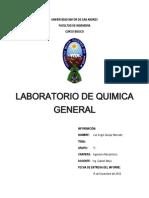 laboratorio de quimica