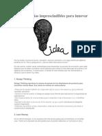 6 metodologías imprescindibles para innovar