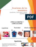 lipotimia shock anafilactico y sincope