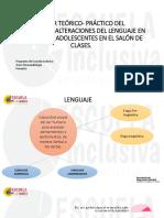 Desarrollo y Alteraciones Del Lenguaje en Niños(as), y Adolescentes Ok.