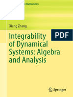 Integrability of dynamical systems