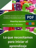 Conductas Básicas de Aprendizaje 2019