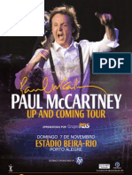 Paul in Brazil Poster Oficial