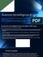Avances Tecnologicos Al 2019