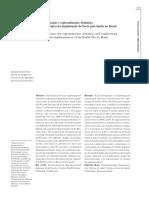 LIMA Et Al. Descentralização e Regionalização- Dinâmica e Condicionantes Da Implantação Do Pacto Pela Saúde No Brasil