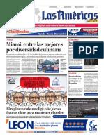 DIARIO LAS AMÉRICAS Edición digital del miércoles 9 de octubre de 2019