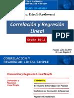 Sesión 10-11 Correlación y Regresion Lineal Simple - Contabilidad
