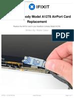 MacBook Unibody Model A1278