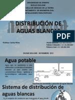Distribución de Aguas Blancas