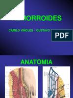 Hemorroides, Fisura y Enfermedad Pilonidal