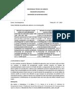 Cuadro Comparativo Purificación No Cromatográfica