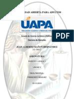 Tarea 5 Derecho Laboral I Juan Mañon (())