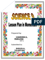 A Detailed Lesson Plan in Momentum