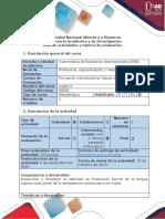 Guía de Actividades y Rúbrica de Evaluación. Task 2 - Writing Production