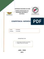 Competencia Imperfecta(Economia)