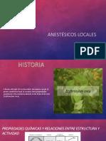 Anestésicos-locales