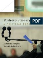 Postrevolutionary Iran. a Political Handbook