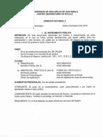 Derecho Notarial 1er Parcial
