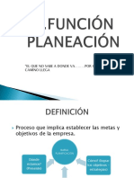 3 FUNCION PLANEACION