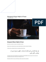 Mengenal Khiyar Majlis Di Pasar _ Konsultasi Agama Dan Tanya Jawab Pendidikan Islam