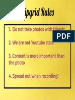 flipgrid rules