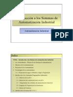 Introducción a los Sistemas de Automatización Industrial
