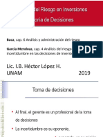 Administración Del Riesgo y La Toma Decisiones