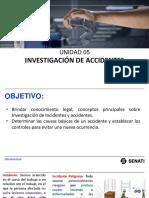 INVESTIGACIÓN DE ACCIDENTES