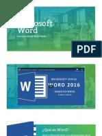 Presentación Word