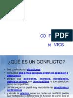 Conflicto y Sus Elementos