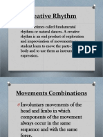7 Creative Movements