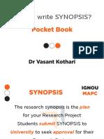 Synopsis Pocket Book