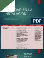 SUCIEDAD EN LA INSTALACIÓN.pptx