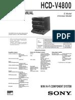 Sony Hcd v4800