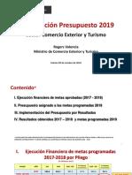 presupuesto 2019 MCE