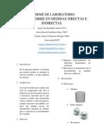 Laboratorio Fisica Mecanica 1 Incertidumbres en Medidas Directas e Indirectas