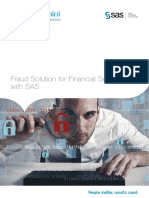 Fraud Solution for Financial Services With Sas -Capgemini & SAS