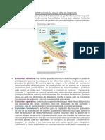 La Institucionalidad en Cuencas