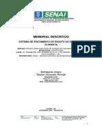 Memorial Descritivo Fossa Filtro Rev00