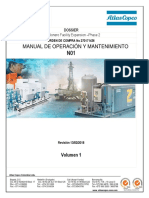N01-INSTRUCTIONS AND OPERATION - SPARE PARTS LIST DATA Compresor aire.pdf