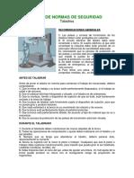 FICHA DE NORMAS DE SEGURIDAD - TALADROS.pdf