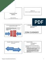 Módulo 14 - Aspectos Comportamentais - Punição e Extinção