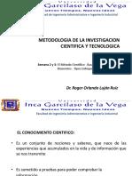 Curso Metodologia de La Investigacion Cientifica - Semana 2 - El Método Científico