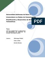 Planificacion de Rede Universitaria y Acceso de VoIP para Estudiantes V1.03