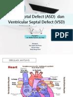 ASD & VSD dr. Isti