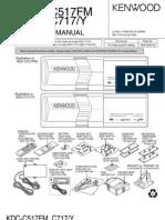 Kdc-c717 Service Manual