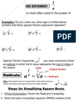Rational Exponents U2 Student Notes