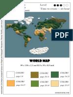 Diy World Map