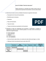 Evidencia 14.6 Matriz Servicios Bancarios